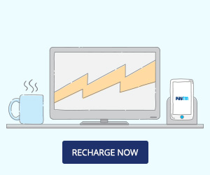 Get Rs.100 cashback on DTH Recharges of Rs 500 and above.